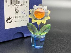 Swarovski Figur 663148 Blume / Blumentopf 5,5 cm. Mit Ovp & Zertifikat.