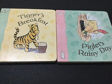 Two x Classic Winnie The Pooh Board Books - E.H. Shepard Illustrations