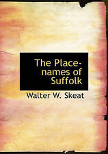 NEW The Place-names of Suffolk by Walter W. Skeat
