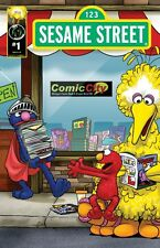 Sesame Street #1 Comic City Exclusive Variant Cover
