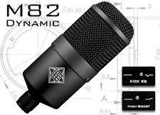 Telefunken Elektroakustic M82 Kick Drum & Vocal Microphone Mic | Atlas Pro Audio