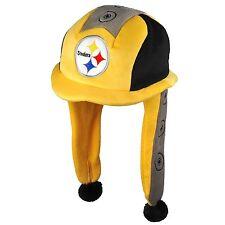 Pittsburgh Steelers Team Logo - Mascot Dangle Hat - NEW soft plush - McBeam