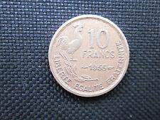 10 Francs Guiraud 1955    TTB