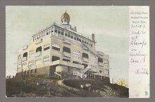 1907 POSTCARD SUMMIT HOUSE, MT. TOM, HOLYOKE, MASS.