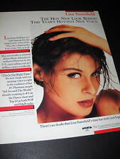 LISA STANSFIELD Hottest New Voice 1990 PROMO POSTER AD