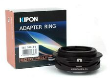 NEW *Turn 360* Kipon Tilt & Shift Adapter for Nikon F Lens to Fuji X-Pro1 X-E1