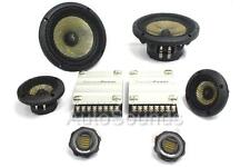 "Precision Power P.65C3 3"" 6-1/2"" 3-Way Car Component Speaker System 6.5"" 1.75"""