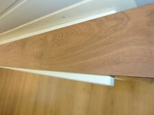 Solid Sapele Square Edge Door Threshold - solid wooden planks