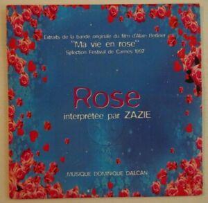 B.O.F. MA VIE EN ROSE - ZAZIE : ROSE ♦ CD SINGLE PROMO ♦