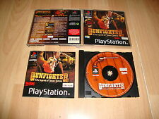 GUNFIGHTER THE LEGEND OF JESSE JAMES DE UBI SOFT PARA LA SONY PS1 USADO COMPLETO