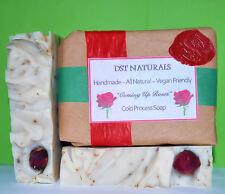 COMING UP ROSES All Natural Handmade Cold Process Soap
