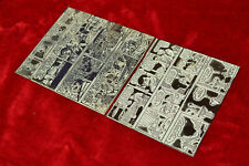 Comic strip page printing press plate Peanuts On Stage Dick Tracy Winnie Winkle