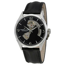 Hamilton Jazzmaster Open Heart Black Dial Automatic Mens Watch H32705731