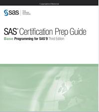 SAS Certification Prep Guide Base Prog for SAS 9, 3rd PLEASE READ PRODUCT LISTIN