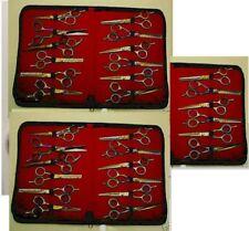 30 - TITANIUM & PLAIN SHEARS. HAIR DRESSING & THINNING SCISSORS JAPAN QLTY STEEL