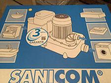 SFA Sanicom Sanibroy Abwasserhebeanlage Abwasser Hebeanlage Neu