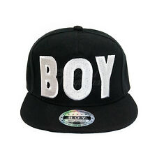BOY GIRL Snapback Hat Hip-Hop Bboy Baseball Cap