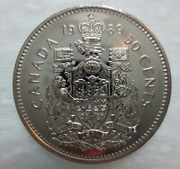 1989 CANADA 50 CENTS PROOF-LIKE HALF DOLLAR COIN