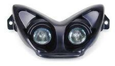Optique double Noir Futura phare ampoules Halogène MBK Nitro YAMAHA Aerox NEUF