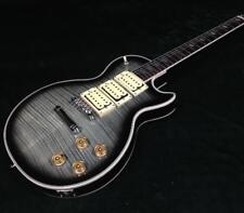 Starshine Good Quality LP Custom Electric Guitar 5A Figured Maple Top 3 Humbucks