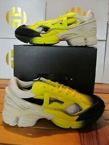 Adidas RAF SIMONS Replicant Ozweego Yellow Black Gradient 3 PairSocks 7.5 EE7931