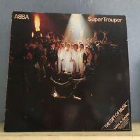 ABBA Super Trouper 1980 UK  vinyl LP + INNER EXCELLENT CONDITION  H