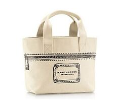 Marc Jacobs Mini Tote Fragrance Handbag Cream Canvas Auth Limited Edition NWT **