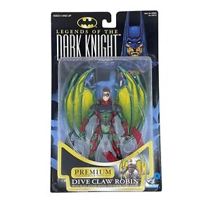 Dive Claw Robin Premium Batman Legends Of The Dark Knight 1997 Glide Wing Kenner