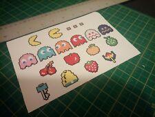 Pacman 8bit retro Stickers