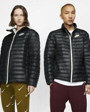 Nike Bomber Giubbino Down Bubble Padded jacket Sportswear BUBBLE Uomo Nero