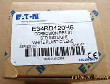 EATON E34RB120H5 Light, White Lens, BRAND NEW!!!
