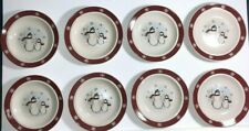 Royal Seasons Salad Bread Desert Plates - Set of 8