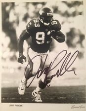 John Randle Minnesota Vikings Hall of Famer Autographed 8X10 NFL Photo