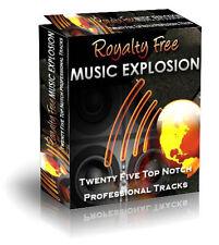 Royalty Free Music Explosion - Lizenzfreie Musik - verschiedene.Lizenzarten