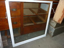 """c1900 ANTIQUE single pane window SALVAGed from local victorian home 40 x 40.5"""""""
