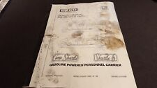 EZGO CARGO SHUTTLE/SHUTTLE 6 GASOLINE POWERED PERSONNEL CARRIER 1996-98 28321-G0