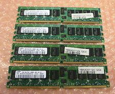 Samsung 4GB 4 x 1GB MEMORY DDR2 PC2-3200R 240 Pin M393T2950BG0-CCC Server RAM
