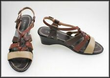 Buckle Synthetic Multi-Colored Shoes for Women