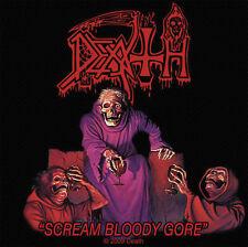 Death - Scream Bloody Gore Aufnäher Patch Chuck Schuldiner Heavy Metal Kutte NEU