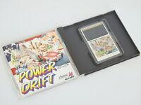 POWER DRIFT Ref/2107 PC-Engine Hu PCE Grafx Japan pe