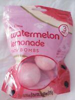 BOLERO Beverly Hills Watermelon & Lemonade Bath Bombs 3 pack