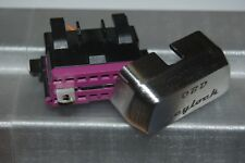 Keylock Blindatura Antifurto per presa OBD in ACCIAIO centralina motore
