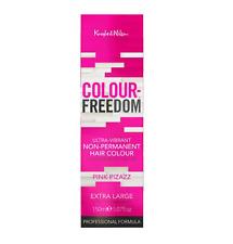Knight & WILSON la libertà di colore rosa Pizazz Non-permanente colore capelli XLarge