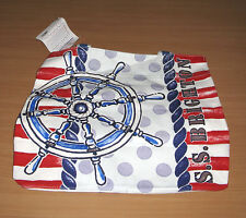 New Sail Away With SS Brighton Canvas Tote Bag Nautical NWT