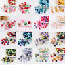 100pcs/bag Mix Pearlized Glass Pearl Round spacer beads 8mm DIY Jewelry Making