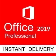 Microsoft Office 2019 Professional Plus 32/64 Bit Genuine Product Key