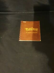 Nintendo Gameboy Manual Only - Pokemon Red / Blue Trainers Guide