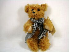 Dean's Rag Book Bears Grandpa Terry Mohair Jointed Limited Edition Coa with Tags