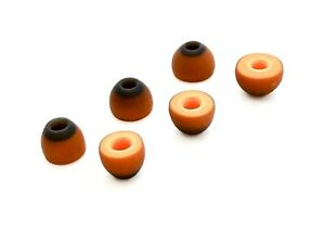 SYMBIO W Memory Foam & Silicone Universal Ear Tips for Heaphones Earbud, 3 pairs
