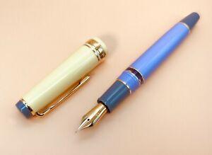 "SAILOR Fountain Pen Japan Genjimonogatari ""Azumaya"" Set Nib Gold 21K Extra-Fine"